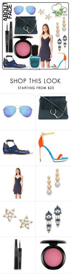 """""""face about fashion"""" by kristeen9 ❤ liked on Polyvore featuring Seafolly, Malone Souliers, Loriblu, Alice + Olivia, Elizabeth and James, Estella Bartlett, DANNIJO, Dolce&Gabbana, MAC Cosmetics and Deborah Lippmann"""