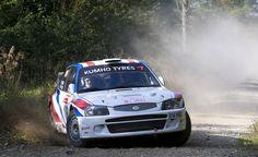 Steve Petch - John Richardson - Hyundai Accent WRC - Yorkshire International Rally 2008