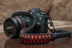 Paracord Camera Strap | I bought some paracord to make littl… | Flickr