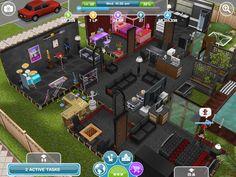 Sim ebony house #sims #simsfreeplay #house