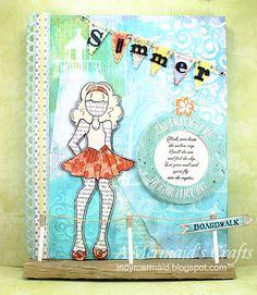 A Mermaids Crafts: Prima Doll Blog Hop - Week 2 Summer