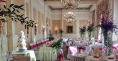 The perfect winter wedding set up at The Grand Hotel