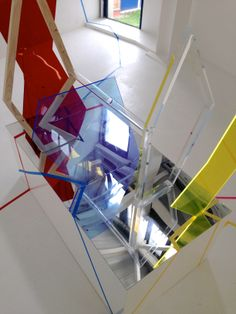 'In Constant Flux'  sculptural installation  2014 By April Pass