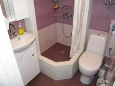 маленькая ванная с душевой кабиной: 13 тыс изображений найдено в Яндекс.Картинках
