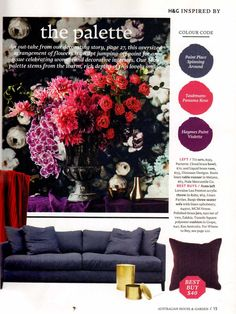 House & Garden – May 2015 Tuxedo Square Cushion – Page 15