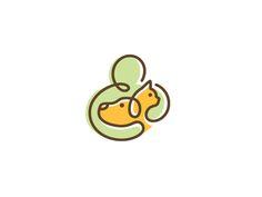 Doodle Mark - logo concept for vet service / pet care by Louis D. Wiyono