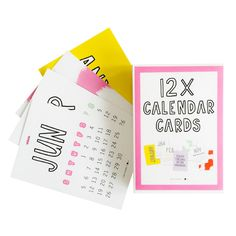Kalender kaarten | Little Small