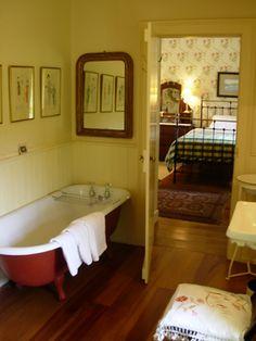Wainscotting in the bathroom Ensuite Bathroom ~ Adare Irish Cottages