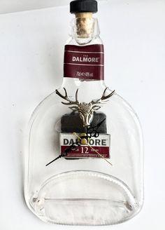 Dalmore 12 Highland single malt Scotch whisky bottle clock by causewaybay on Etsy