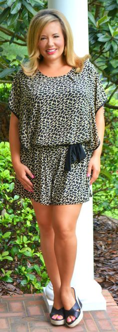 Wild Way Romper - Perfectly Priscilla Boutique
