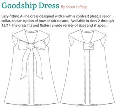 Goodship Dress. This is a must-have for Mary this summer.