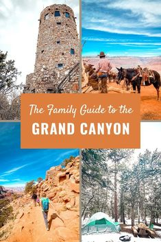 A family friendly Grand Canyon camping & hiking trip! What to do with 24 hours in the Grand Canyon with kids!