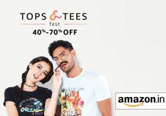 Get awesome offer on men and women's printed tops + 10.2% cashback on Amazon India! 🙆🙋 Shop with us here -   #deals #coupons #mens #womens #tops #tshirts #fashion #printed #menswear #womenswear #cashback #instalike #topcashbackindia