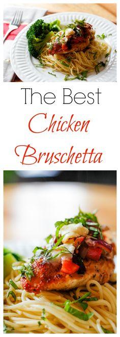 Chicken With Italian Seasoning, Chicken Seasoning, Good Food, Yummy Food, Yummy Treats, Top Recipes, Sweets Recipes, Italian Spices, Bruschetta Chicken