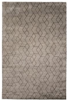 The shapes in this pattern have a wonderful sense of movement and a nice metallic nickel and chestnut brown color scheme.