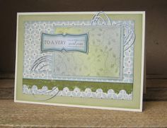 The Stamp Pad: Another sample from our recent quickie card worksh. Stamp Pad, Workshop, Paper Crafts, Inspire, Frame, Cards, Inspiration, Design, Biblical Inspiration