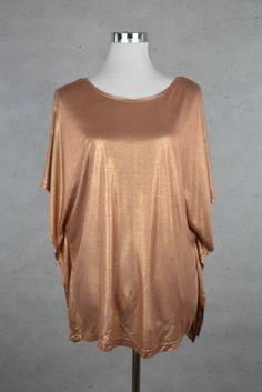 Partytaugliches Metallic Oberteil von H&M online kaufen - Grösse S - Marke H&M | Vintage-Fashion Online Shop fürs Verkaufen und Kaufen
