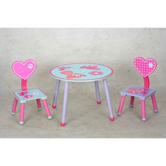 Guidecraft Art Table Chair Set Red G98049 * You can get additional ...