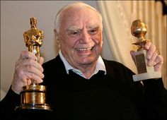 I met Ernest Borgnine and his wife Tova a few years ago. We were at the same table for an award show. He couldn't have been nicer and funnier. Such a great guy.
