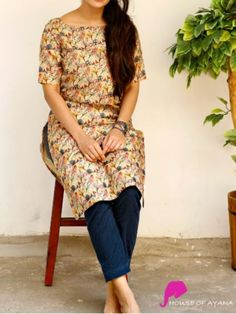 """Check out these amazing styles of Kurti which are just more than perfect for a working woman.  For daily work wear Kurtis are perfect they are appropriate and stylish looking so this type Kurtis are preferable for daily wears. You can easily pair it with palazzo, jeans or leggings you are ready to conquer your mission.  """"A kurta is its own kind of beautiful"""" #latestkurtis #newarrivalkurtis #designerkurtis #workwearkurtis #casualwearkurtis #officewearkurtis #formalwearkurtis #fancykurtis Simple Kurti Designs, Stylish Dress Designs, Kurta Designs Women, Stylish Dresses, Casual Work Wear, Indian Designer Suits, Dress Indian Style, Traditional Dresses, Daily Wear"""