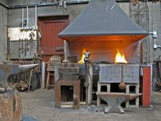 blacksmithing at home
