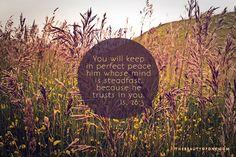 Isaiah 26:3 #scripture #art #thebeautyofone