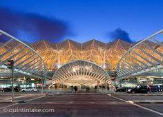 Oriente station, lisbon, Calatrava