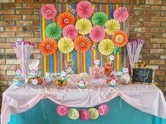 Candyland Birthday Party by Two Belles Event Planning! To see more, visit http://twobellesevents.wordpress.com/2012/12/17/how-sweet-it-is-a-candyland-birthday-party-pic-heavy-x-10/