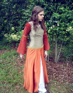 Lucy Pevensie's Dress from Narnia: Prince Caspian - forest maiden, fantasy, medieval