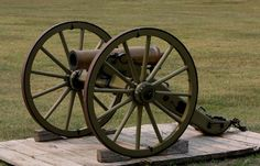 M1841 12 pounder Mountain Howitzer - Used during the Indian War and American Civil War, particularly by the confederate army.