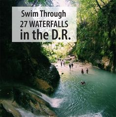 Don't miss out on the unforgettable adventure waiting for you at the 27 waterfalls of Damajagua in the Dominican Republic!