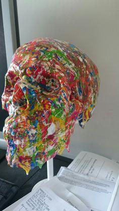 Skull art déco DIY By JB