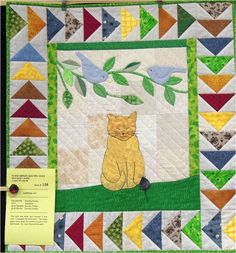 ❤ =^..^= ❤ Purrrrfectly cute cat quilts