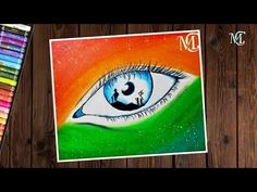 """Independence day drawing with oil pastel step by step Hello friends, Hope you are enjoying my videos. In this video, I show you, how to draw """" independence d. Oil Pastel Drawings Easy, Emotional Art, Indian Art Paintings, Word Art Drawings, Amazing Art Painting, Oil Pastel Art, Mini Canvas Art, Independence Day Drawing, Nature Canvas Art"""