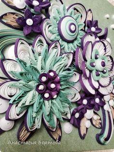 Декор предметов Квиллинг Февраль Бумажные полосы фото 9