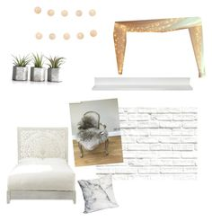"""Untitled #29"" by jessfry10 on Polyvore featuring interior, interiors, interior design, home, home decor, interior decorating, Brewster Home Fashions, Home Decorators Collection and LumaBase"