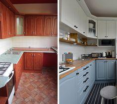 A konyha is a mai trendeknek megfelelően lett felújítva.