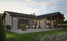 Style At Home, Gazebo, Pergola, Bungalow Exterior, House 2, House Floor Plans, Home Fashion, Cottage, Outdoor Structures