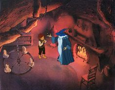 Ralph Bakshi Films and Art - GANDALF AND FRODO AND THE ONE RING