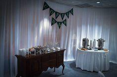 DIY coffee Bar @ reception