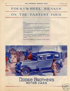 Dodge Brothers Car Color (1928)