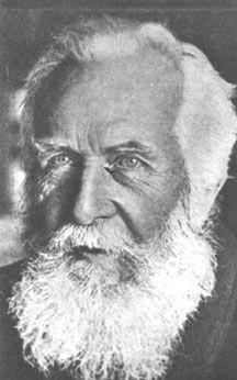 Ernst Haeckel (1834-1919) German biologist, philosopher, naturalist, scientist, and artist.