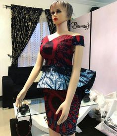 we bring you beautiful Ankara Peplum Tops To Rock your skirt and Jeans and fabulous. African Fashion Ankara, African Fashion Designers, African Print Fashion, Africa Fashion, African Attire, African Wear, African Women, Ankara Peplum Tops, Ankara Dress