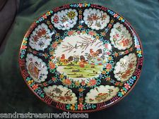 Daher Decorated Ware Tray Made In England Rare Vtg Daher Decorated Ware Tin Bank Wkey Made In Belgium Small