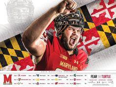Maryland 2015 Football Poster 3