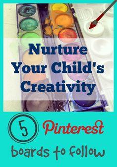 Help Nurture Your Child's Creativity