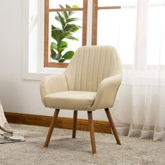 online shopping for Roundhill Furniture Tuchico Contemporary Fabric Accent Chair, Tan from top store. See new offer for Roundhill Furniture Tuchico Contemporary Fabric Accent Chair, Tan Living Room Chairs, Living Room Furniture, Dining Chairs, Dining Room, Apartment Furniture, Lounge Chairs, Apartment Ideas, Dining Table, Old Chairs