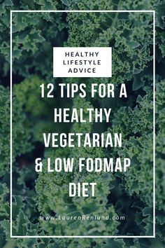 12 Tips for a healthy Vegetarian or Vegan low FODMAP diet! The low FODMAP diet can be very tough to follow, especially when you have other restrictions such as vegetarianism. Get a FODMAP dietitian's top 12 tips!