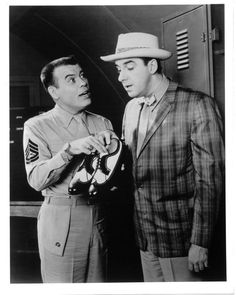 Jim Nabors Frank Sutton Gomer Pyle Black And White 8x10 Picture Celebrity Print