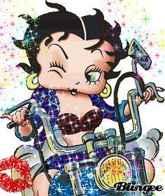 Born to be wild Betty Boop